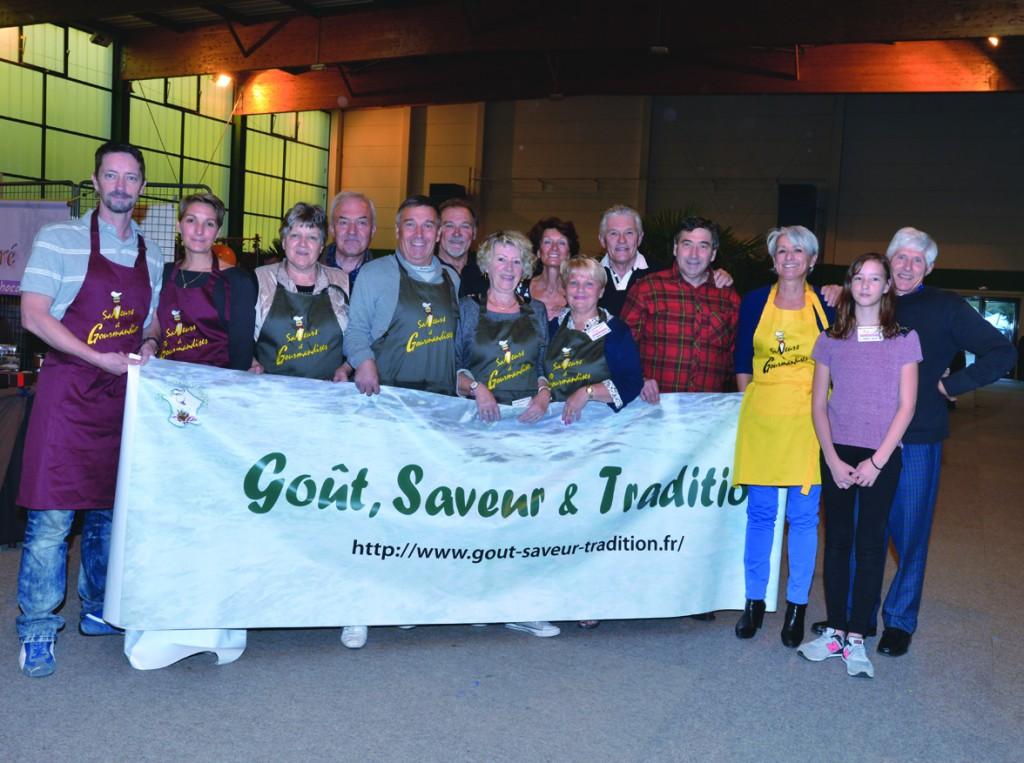 Salon-Saveur-Gourmandises-Cerny- Essonne- salon 2015 Equipe GST